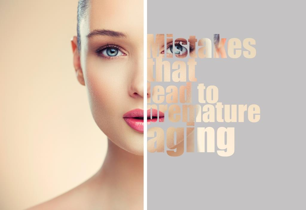 mistakes that lead to premature aging