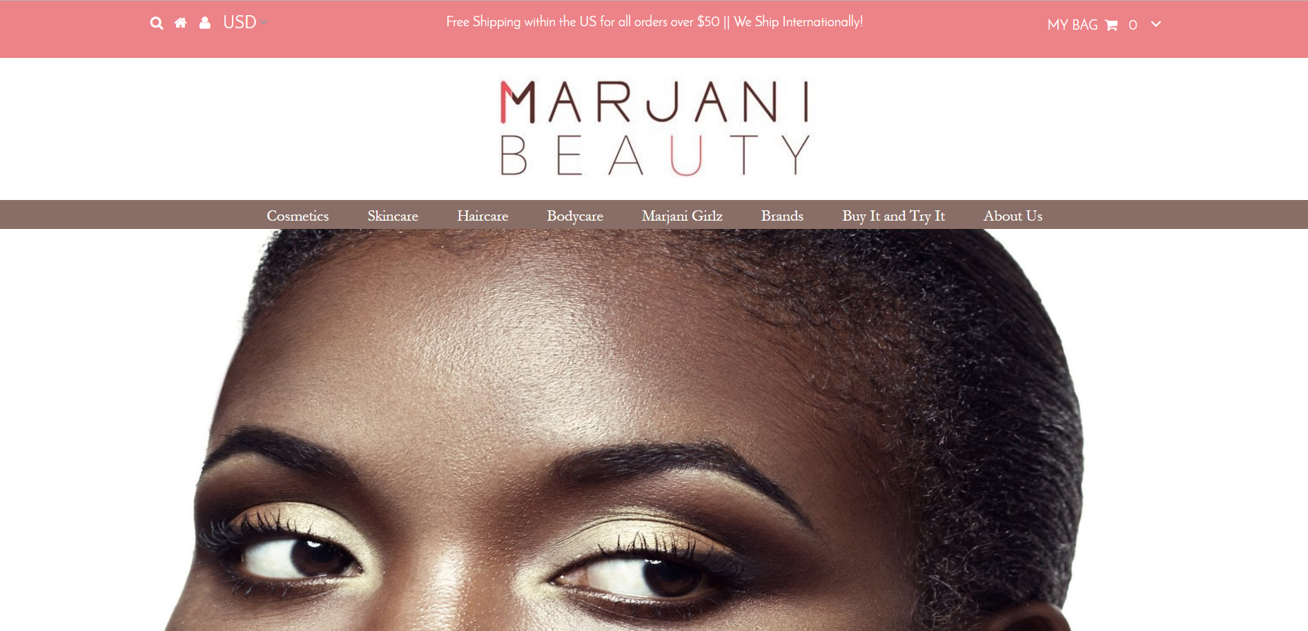 An E-Commerce Beauty Website Brings Diversity to the Industry