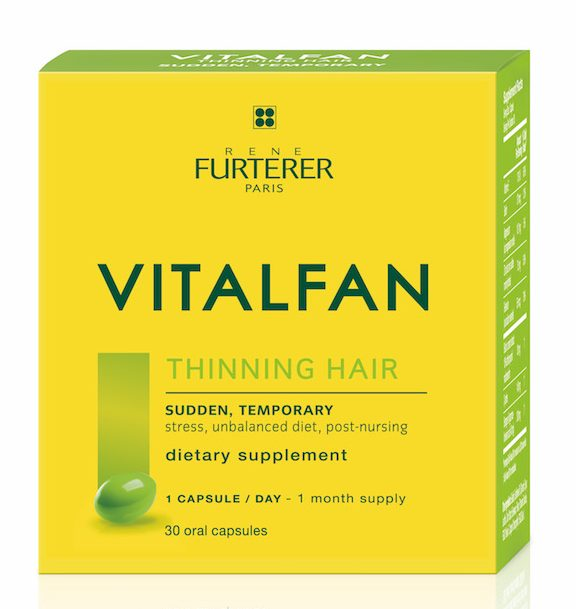 Rene Furterer VITALFAN dietary supplement - sudden, temporary
