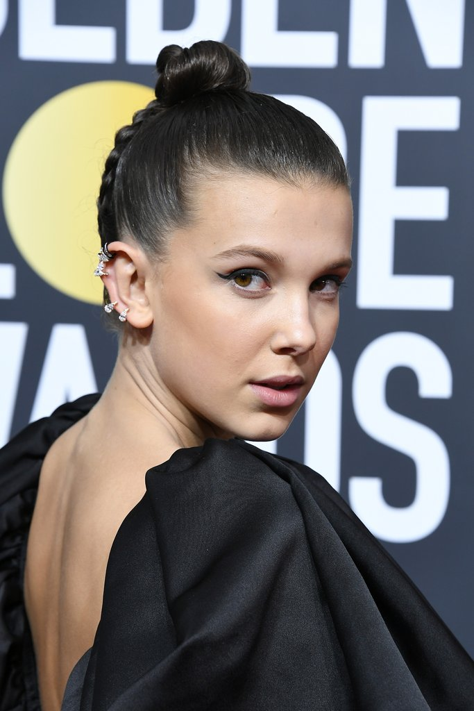 Millie-Bobby-Brown-Hair-2018-Golden-Globes
