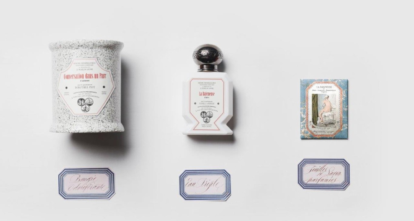 The Louvre Partners With French Perfumer Buly On Painting-Inspired Fragrances