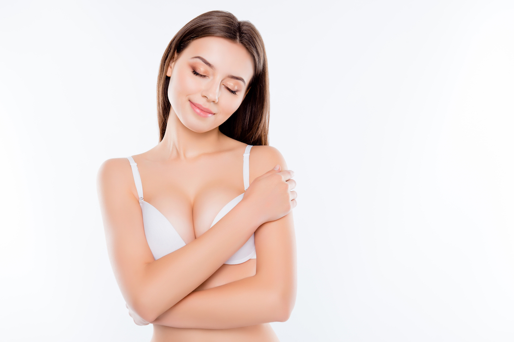 Woman, Breast Lift Surgery