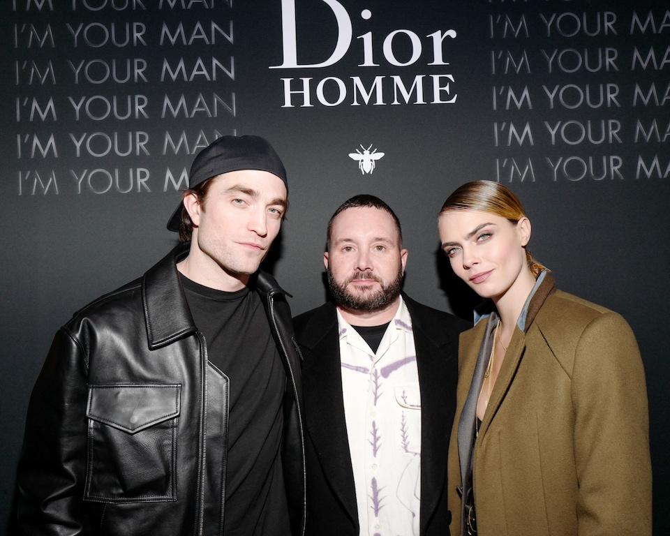 Robert Pattinson, Kim Jones, Cara Delevingne