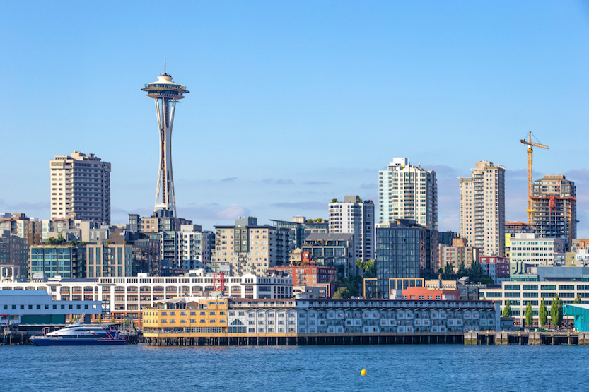 Seattle space needle - used Mar2020