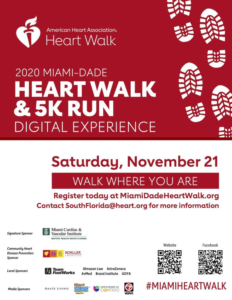 Miami-Dade Heart Walk