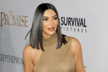Kim,Kardashian,West,At,The,Los,Angeles,Premiere,Of,'the