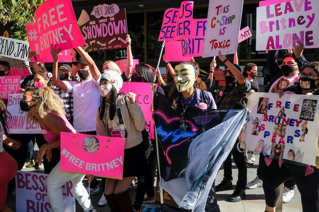 Britney Spears Conservatorship Protest