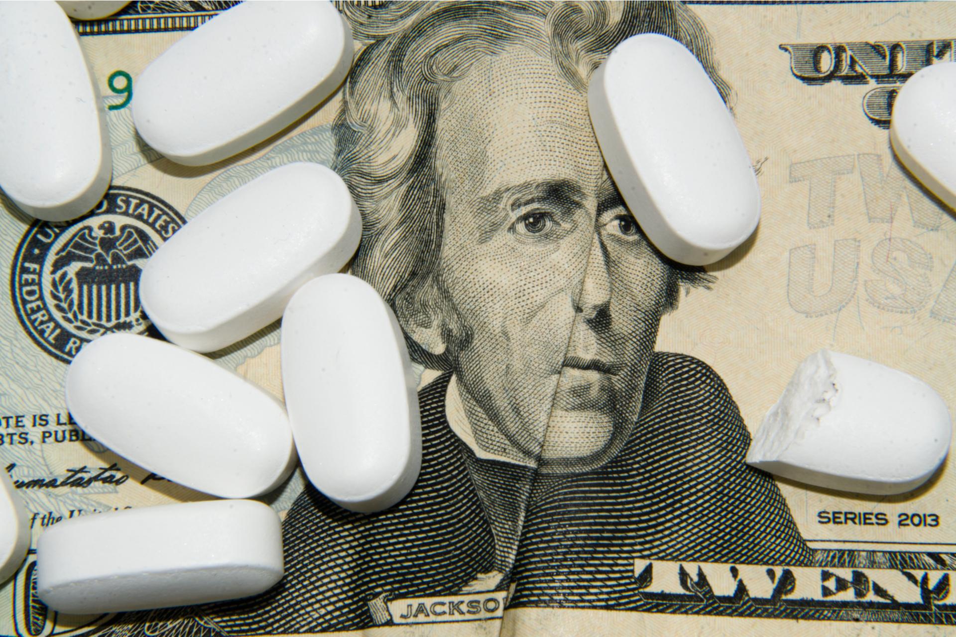 opioid money