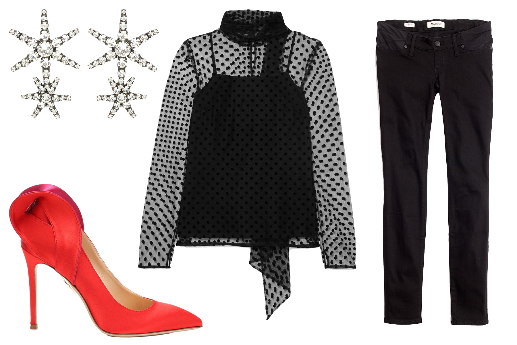 look-4-2 New Year's Eve Looks for the Expectant Mom