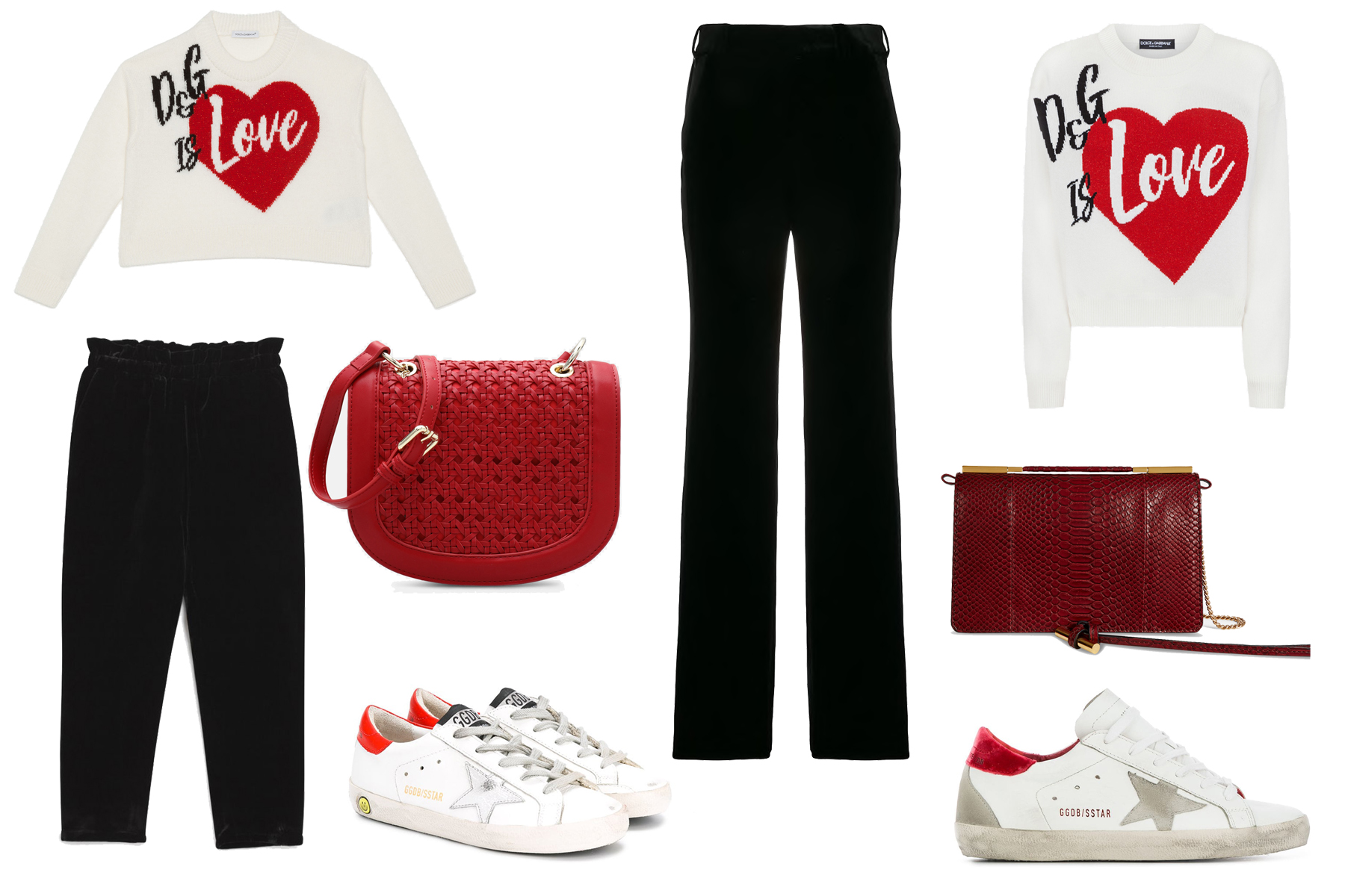 valentines-day-look-1 Five Matching Mommy-and-Me Looks That Are Perfect for Valentine's Day