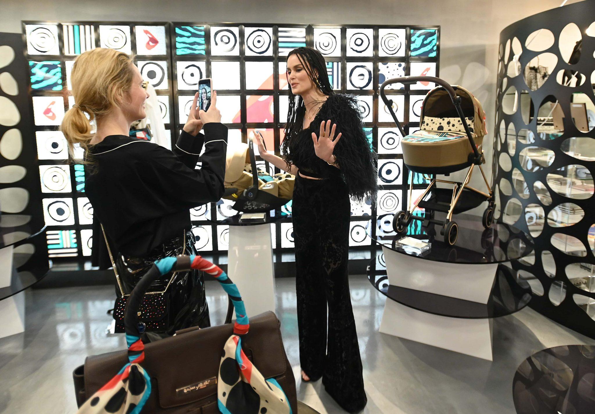 2801EF14-8320-4766-82E4-614AFCD0C7D5 CYBEX Launches Collaboration With Supermodel Karolina Kurkova