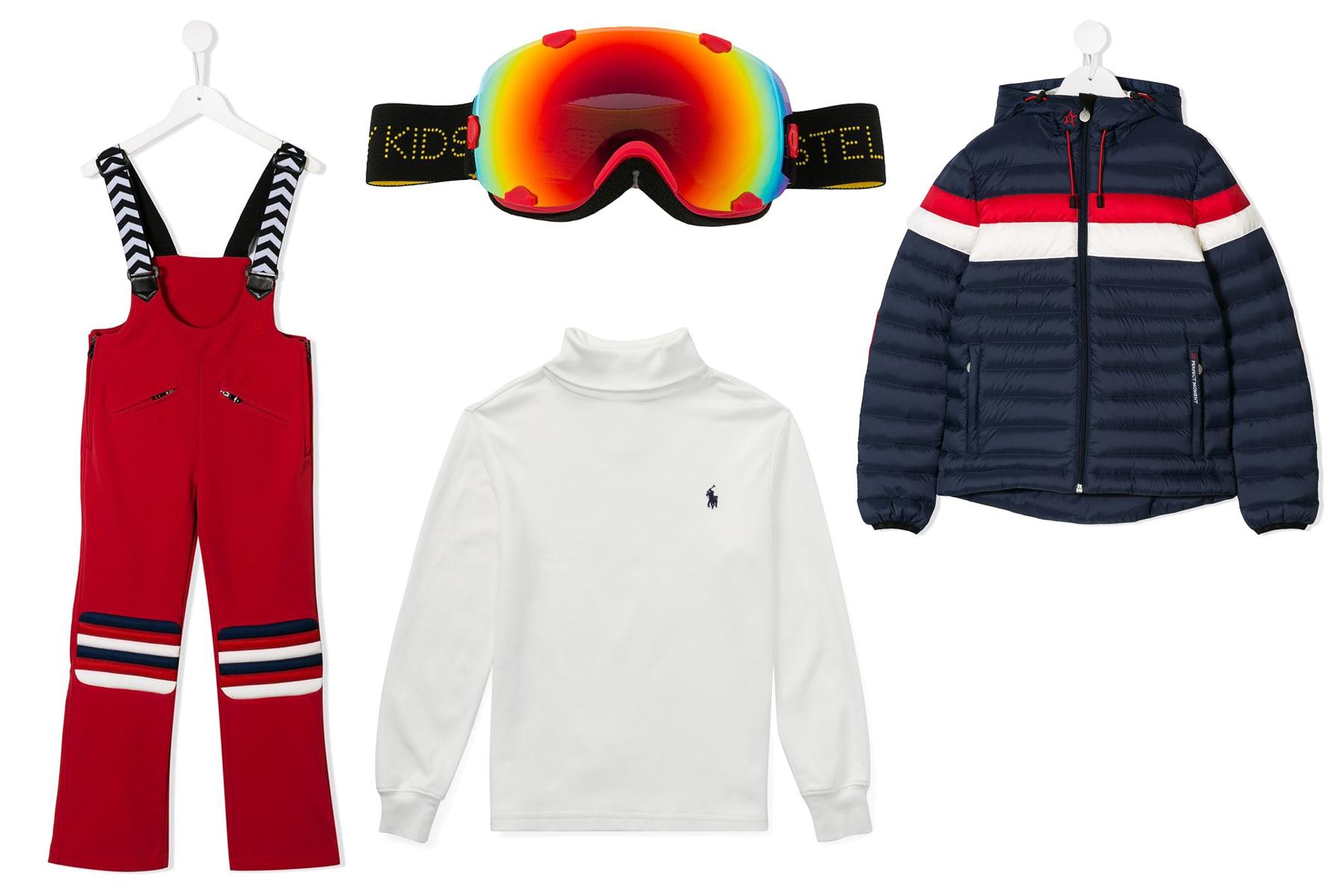 look-4 4 Kids Skiing Looks, Just In Time for Spring Break