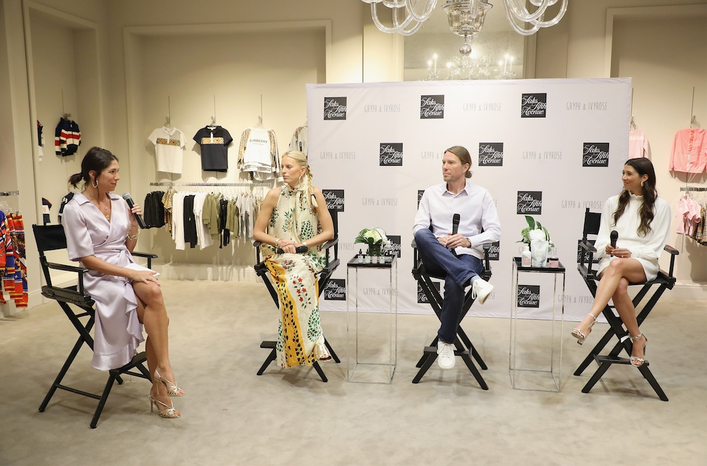 1 Saks Fifth Avenue Bal Harbour Boutique Celebrates Gryph & IvyRose Launch With Co-Founders Karolina Kurkova, Rachel Finger & Orion Nevel