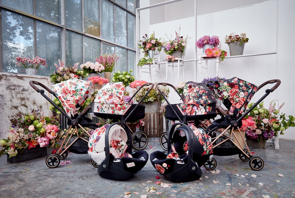 1-2 CYBEX Platinum Launches New Spring Blossom Collection