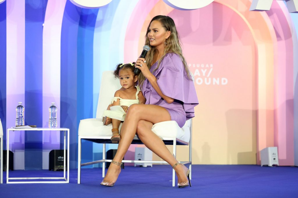 1157830313-1-1024x683 Chrissy Teigen Takes Stage with Daughter Luna During Second Annual POPSUGAR Play/Ground