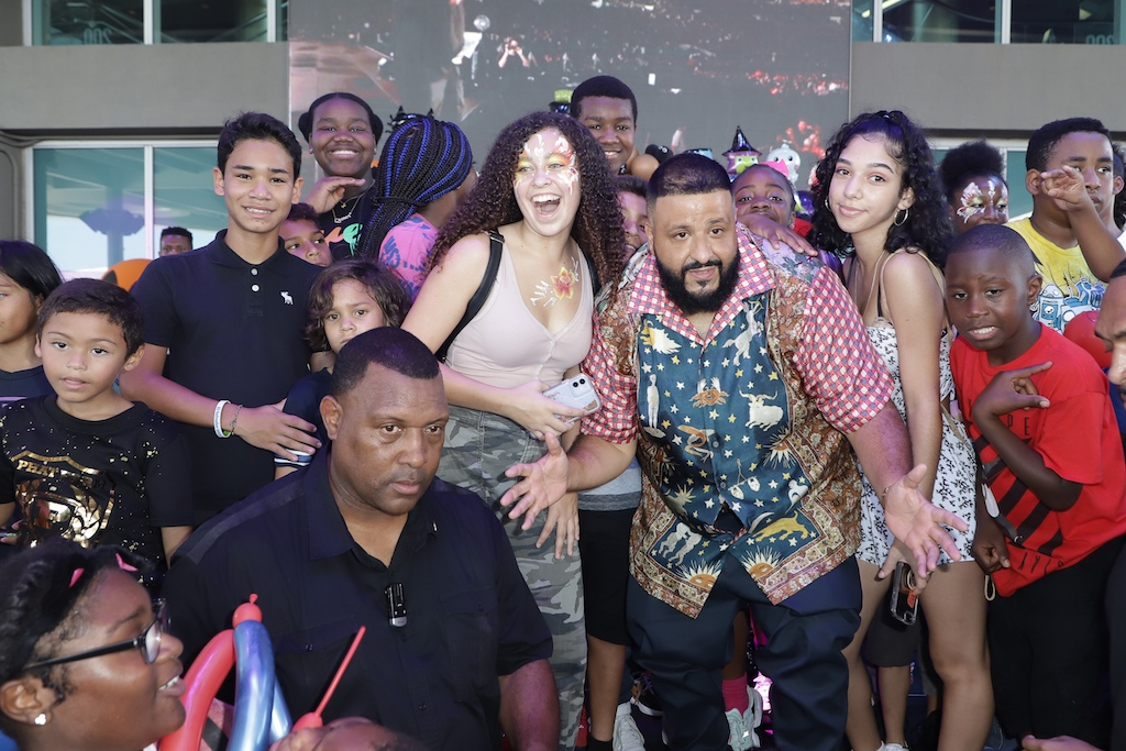 1-18 DJ Khaled Celebrates Son Asahd's 3rd Birthday American Airlines Arena With Fundraising Party