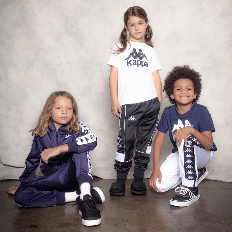 1-7 KAPPA Launches Holiday Kids Line With Classic Track Suits
