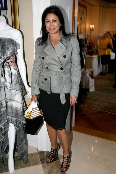 Caroline Hirsch at Fashion Fete to Benefit Gabrielle's Angel Foundation