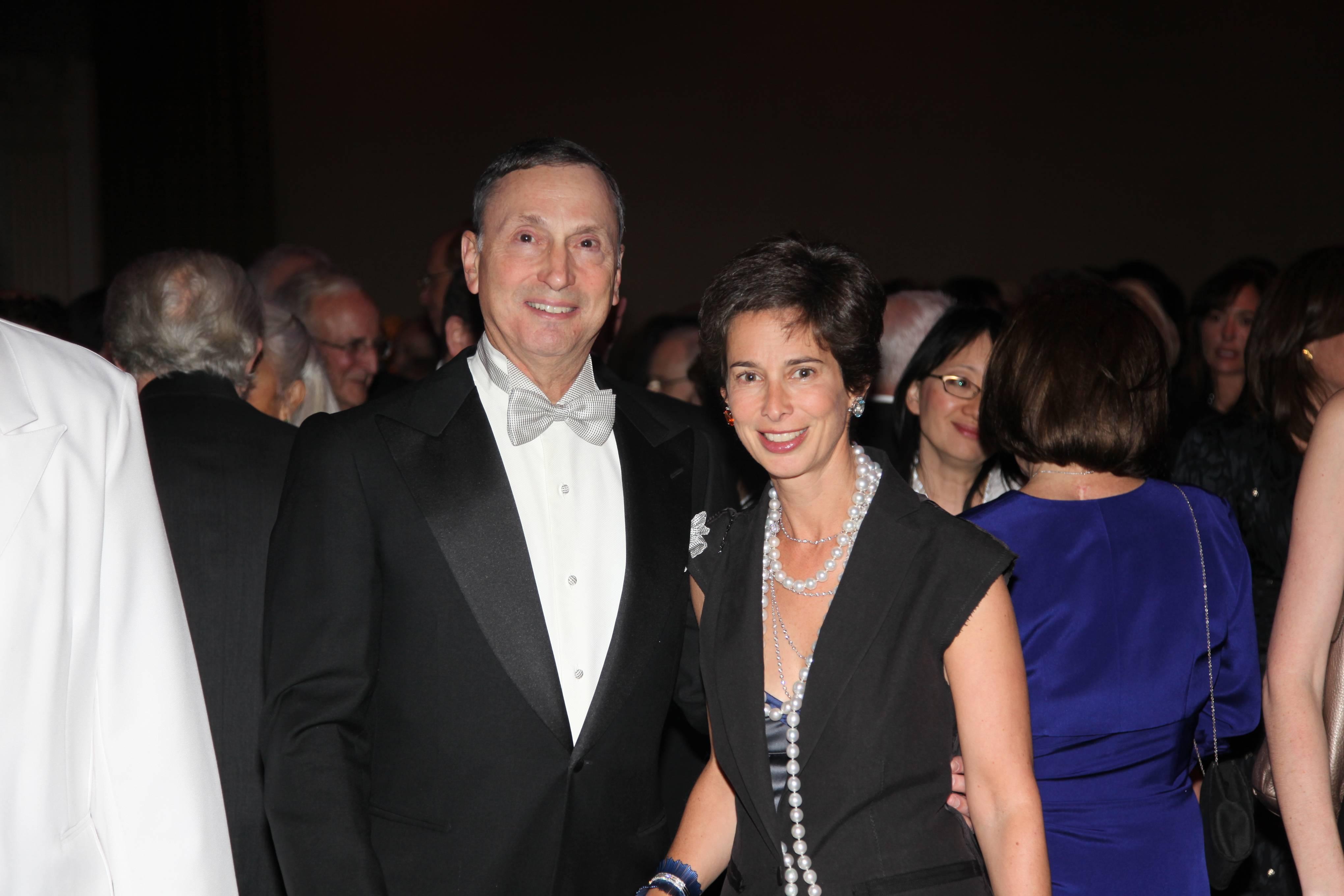 Dean Grossman and Alice Tisch