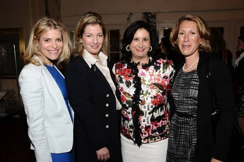 Eve Millstein, Ann Mantell, Elyse Newhouse, Arielle Perlmuter