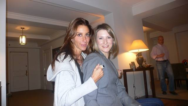 With Lizzie Tisch
