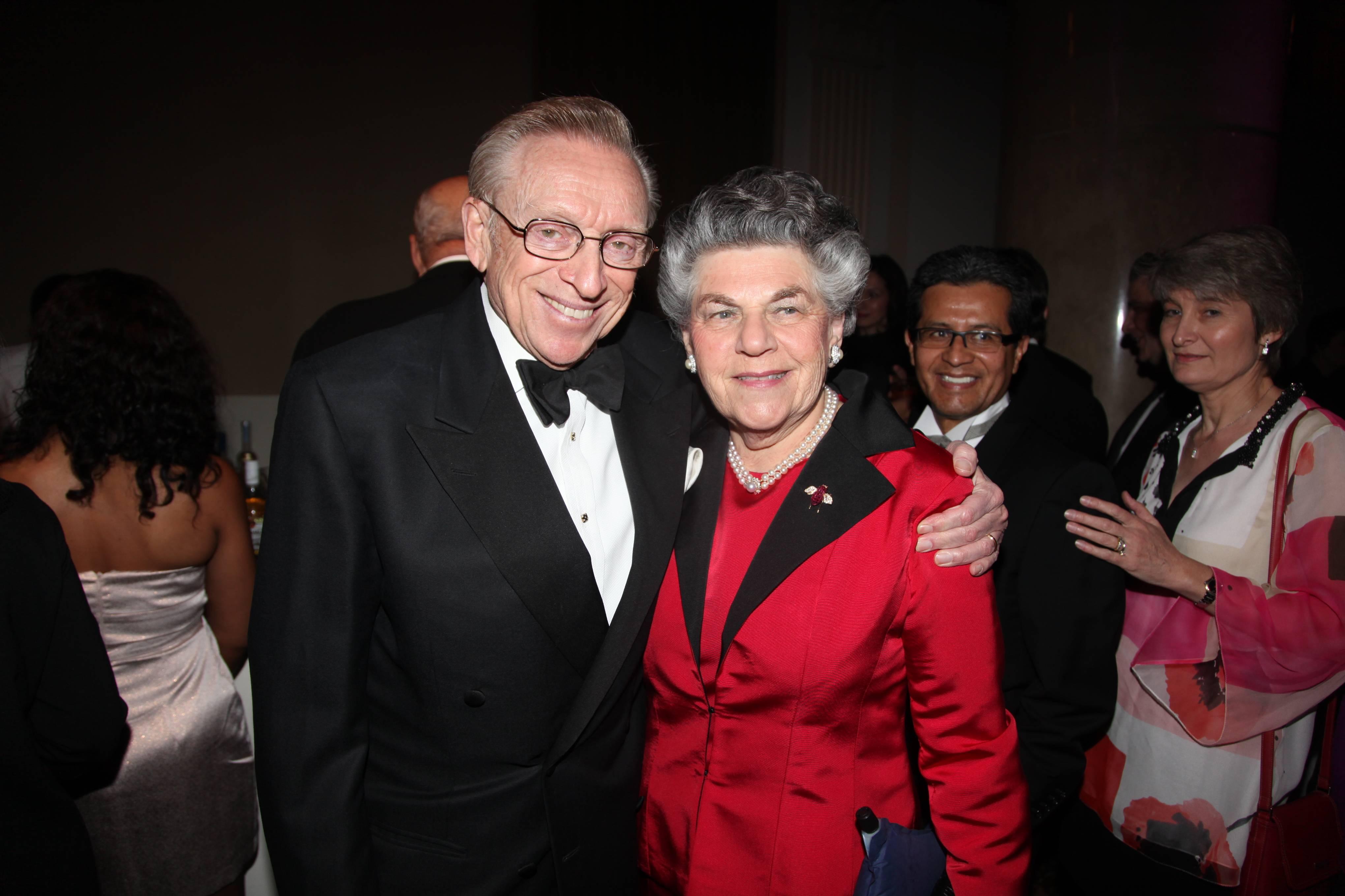 Larry and Klara Silverstein