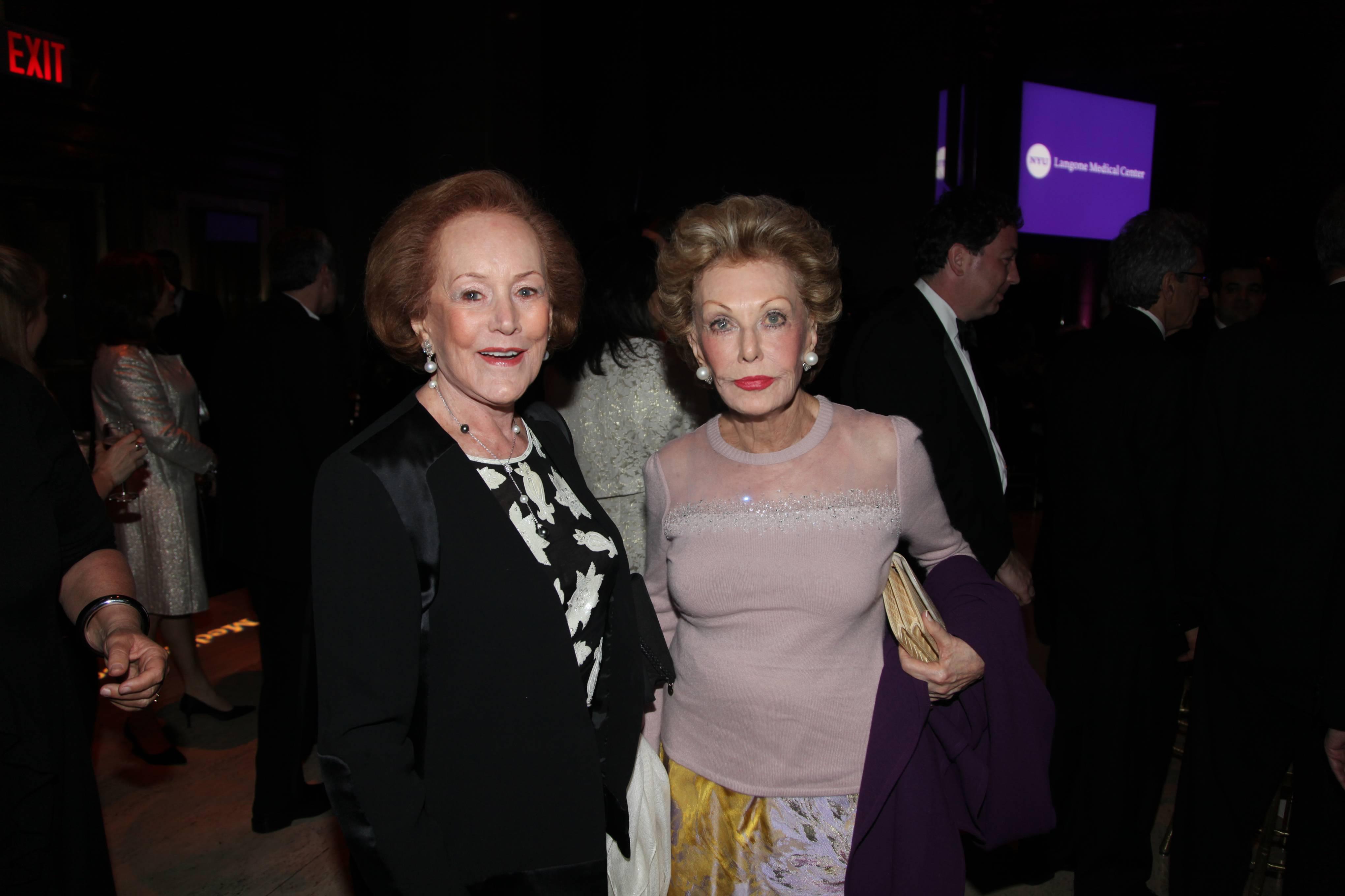 Lola Finkelstein and Sylvia Hassenfeld