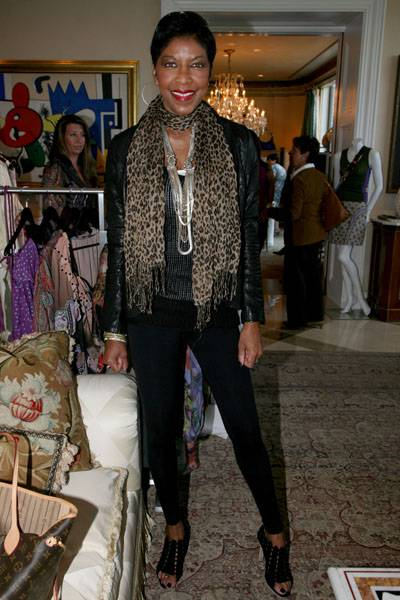 Natalie Cole at Fashion Fete to Benefit Gabrielle's Angel Foundation
