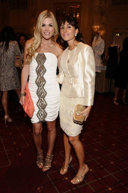 with Tinsley Mortimer