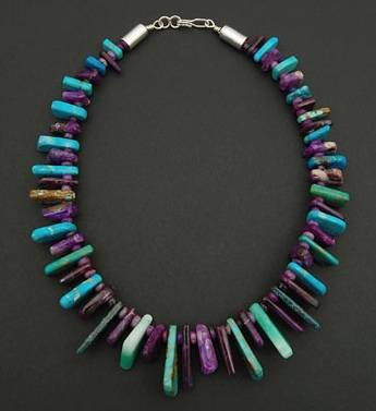 Sugilite-Turquoise-Necklace-Tommy-Jackson-Heard-Museum
