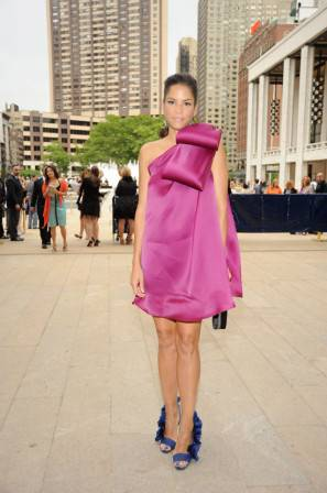 Veronica Webb in Christian Siriano at the ABT Spring Gala