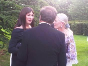 Angelica Huston and Vanessa Redgrave
