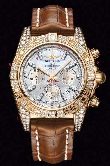 Breitling Chronomat B01 Diamondworks WITH POINTS