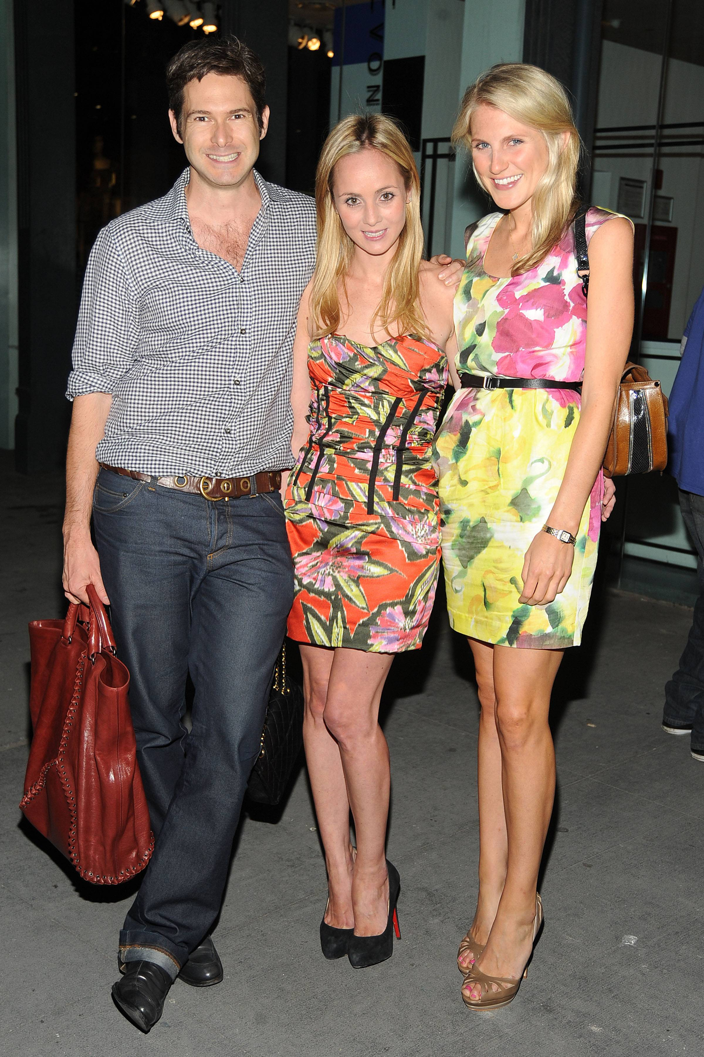 Bronson von Wyck, Devon Radziwill, Hayley Bloomingdale. The Institute for Civic Leadership 2010 Spring Benefit at DVF Studio June 15, 2010. Photo credit-Patrick McMullan