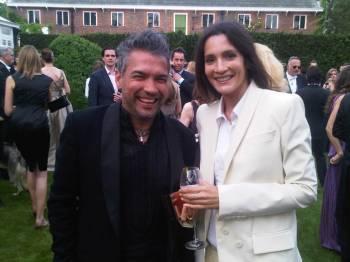 Carlos Mota and Astrid Munoz