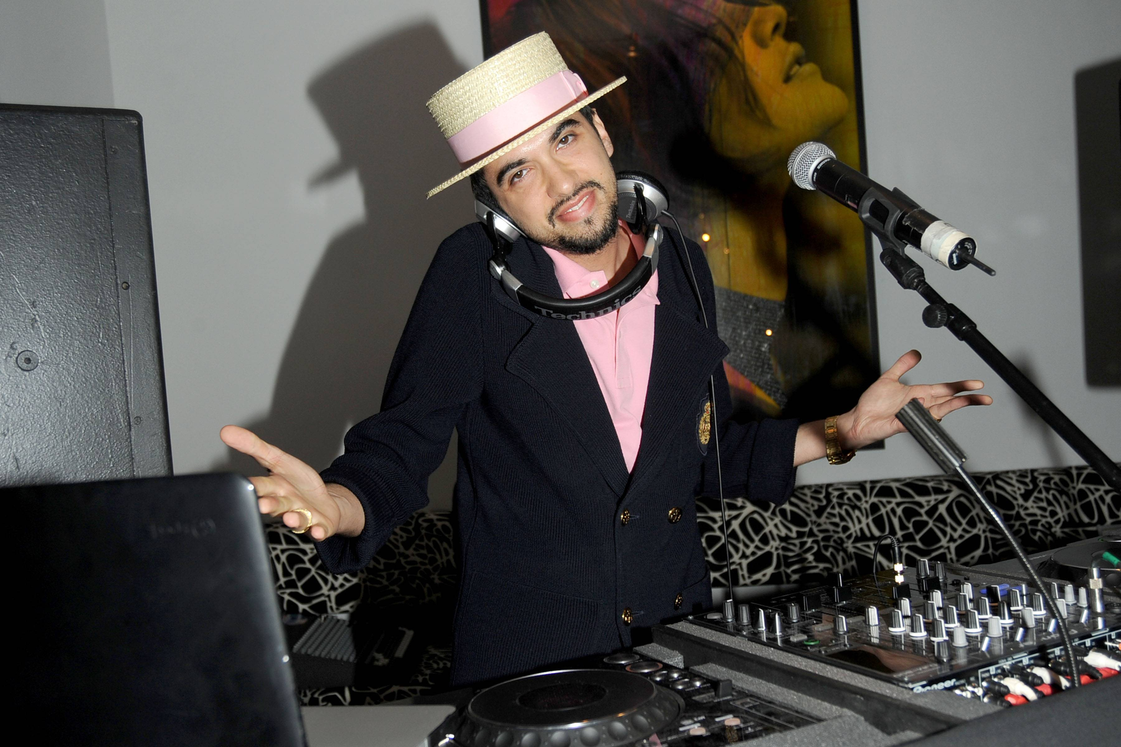 DJ Cassidy. The Institute for Civic Leadership 2010 Spring Benefit at DVF Studio June 15, 2010. Photo credit-Patrick McMullan