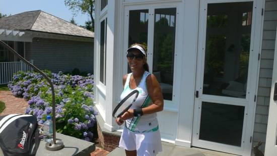 Denise Rich tennis
