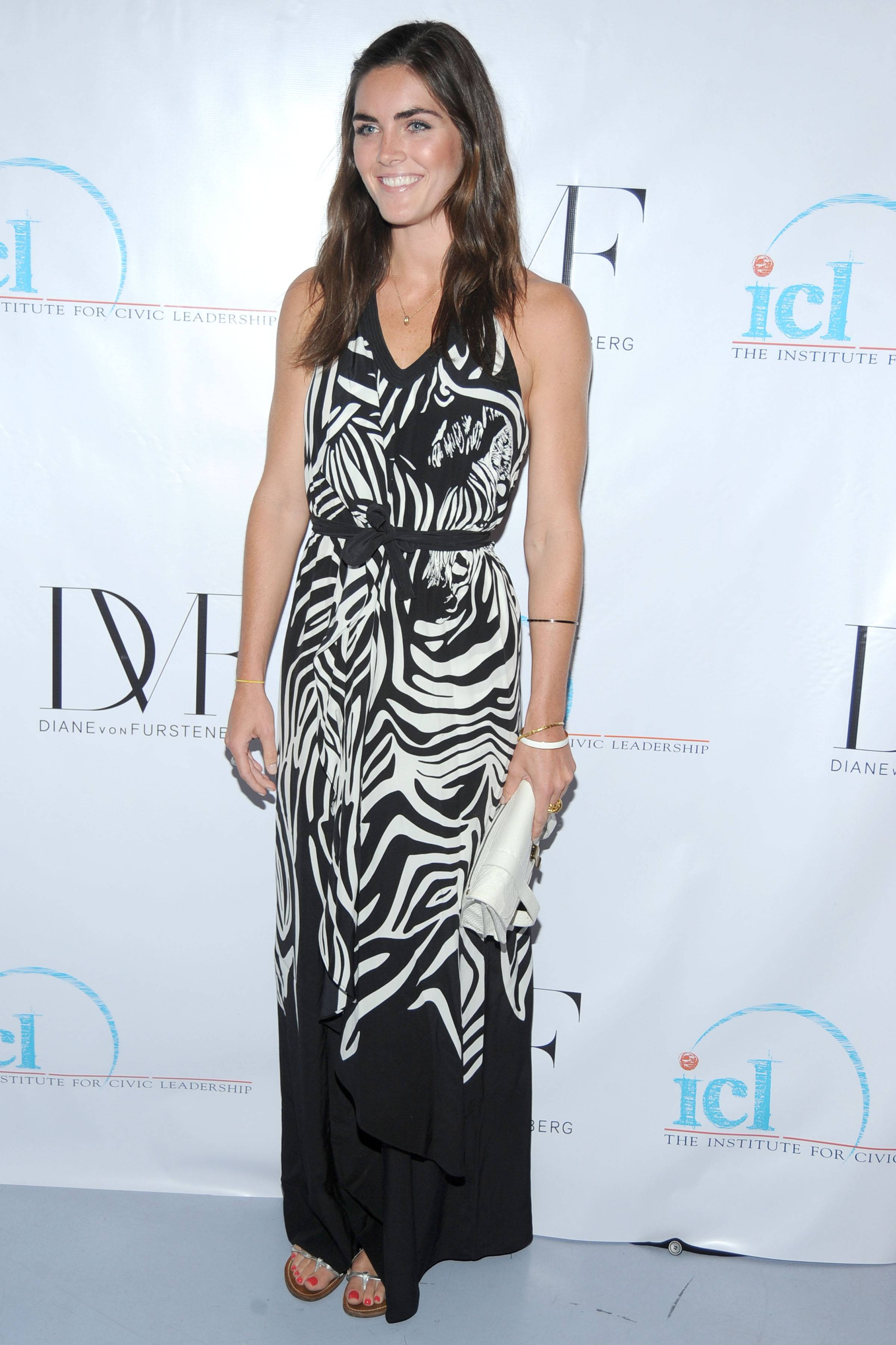 Hilary Rhoda. The Institute for Civic Leadership 2010 Spring Benefit at DVF Studio June 15, 2010. Photo credit-Patrick McMullan