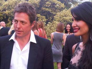 Hugh Grant and Goga Ashkenazi
