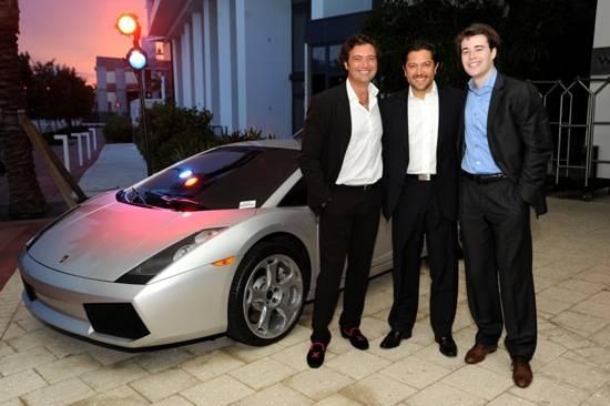 Javier Martin, Jose Luis Bueno, & Albert Villanova by car