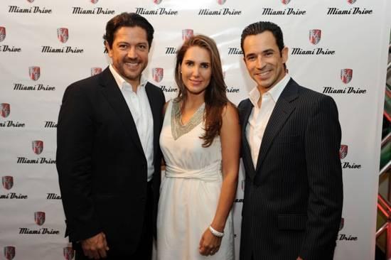 Jose Luis & Karla Bueno & Helio Castroneves