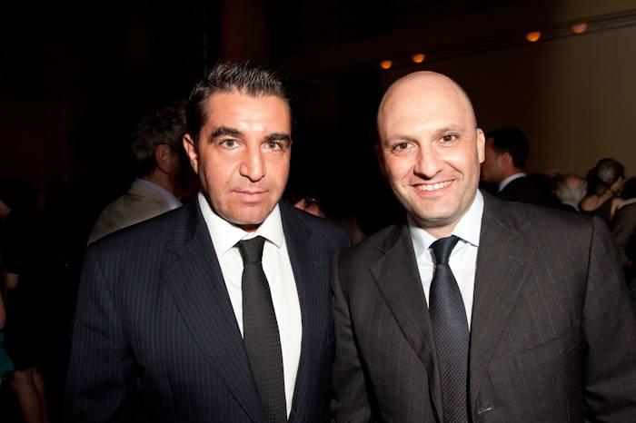 Paolo Zampolli and Andrea Fiocchi
