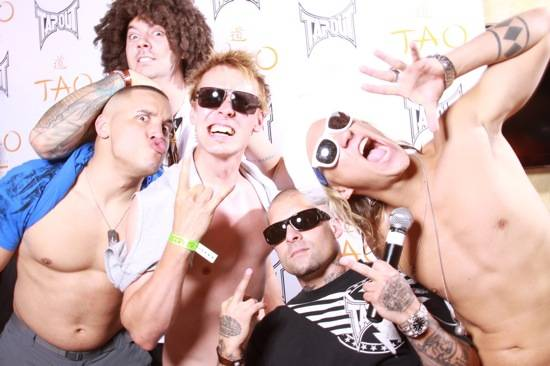 3. Tapout Crew & Jukka from Dudesons