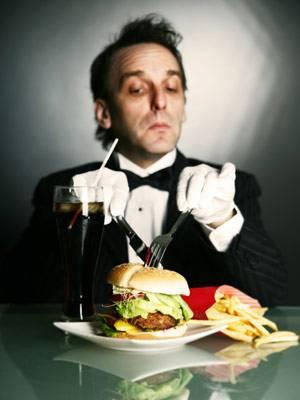 Classy burger