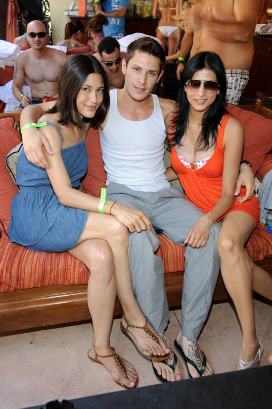 Julia Jones, Alex Merz, and Tinsel Korey