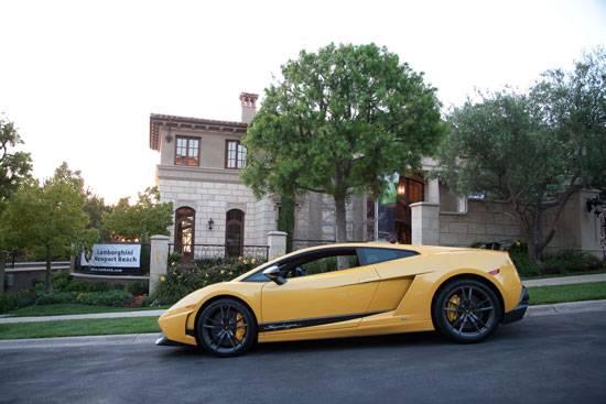 Lamborghini Driven Orange County
