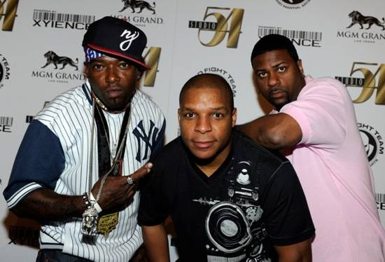 Naughty by Nature arriving at Studio 54