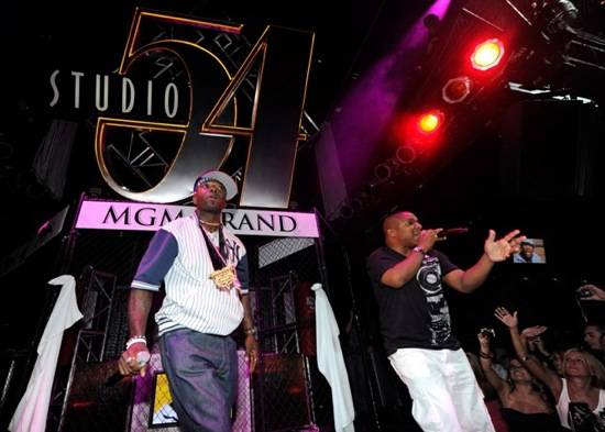 Naughty by Nature performing at Studio 54