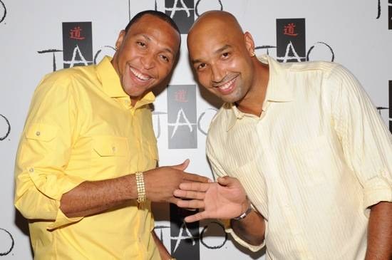 Shawn Marion and Drew Gooden