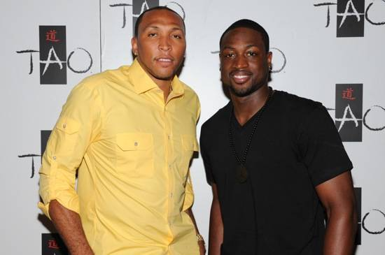 Shawn Marion and Dwayne Wade